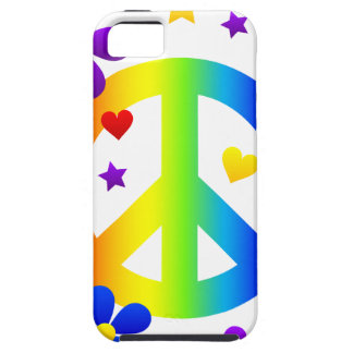 peace_sign_rainbow.png iPhone 5 cover