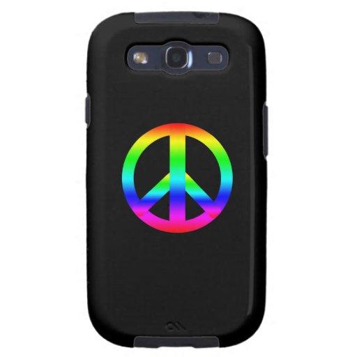 Peace Sign Samsung Galaxy SIII Case