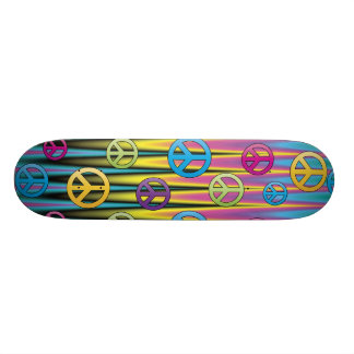 Peace Sign Skate Skate Deck