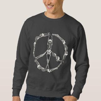 Peace Sign Skeletons Sweatshirt