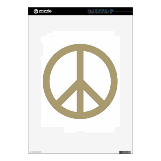 Peace Sign Skin For iPad 2