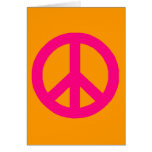 Peace Sign Stationery Note Card