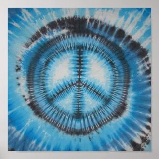 Peace Sign Swirl Tie Dye