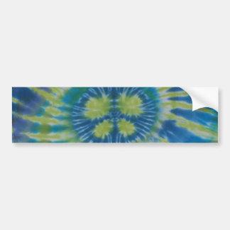 Peace Sign Swirl Tie Dye Sticker