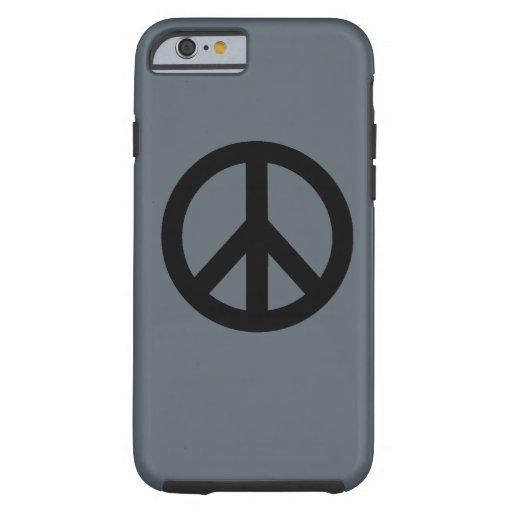 Peace Sign Symbol Tough iPhone 6 Case