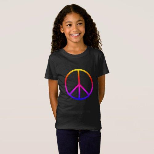 Peace Sign _ Tee Shirt