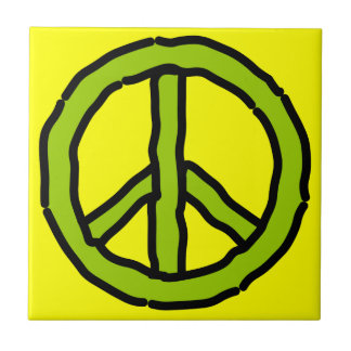Peace Sign Tile