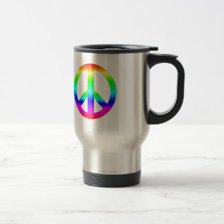 Peace Sign Travel Mug