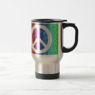 Peace Sign Travel Mug