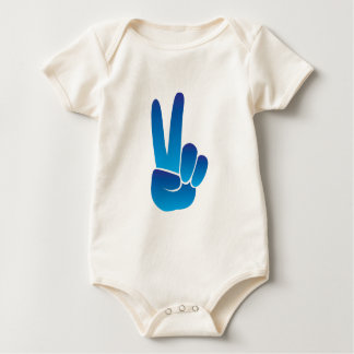 Peace Sign Baby Creeper