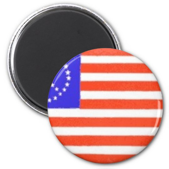PEACE SIGN US FLAG MAGNET