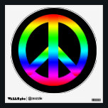 """Peace Sign Wall Decal<br><div class=""""desc"""">Peace Sign</div>"""