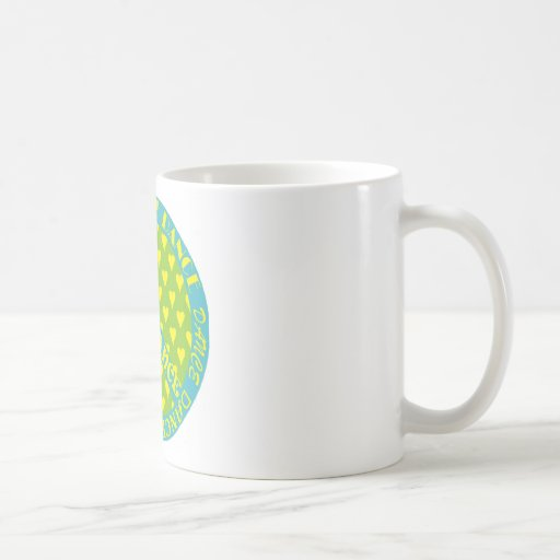 Peace Sign with Dance in Frame Classic White Coffee Mug