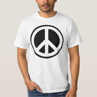 Peace Sign with Thomas Jefferson quote T-Shirt