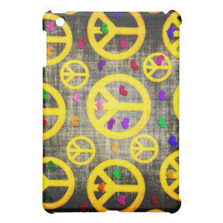 Peace Signs and Hearts Case For The iPad Mini