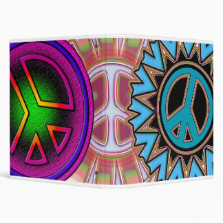 PEACE SIGNS BINDER