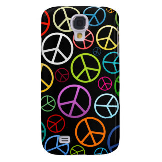 Peace Signs Collage 3G/3GS  Galaxy S4 Case