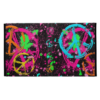Peace Signs Collage iPad Cases