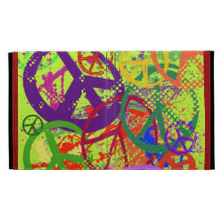 Peace Signs Collage iPad Folio Case