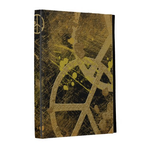 Peace Signs Collage iPad Case