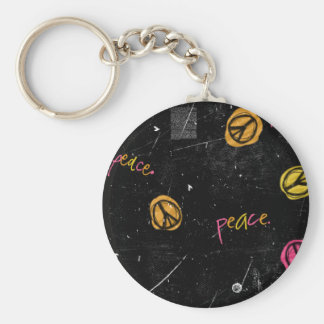 PEACE SIGNS KEYCHAIN