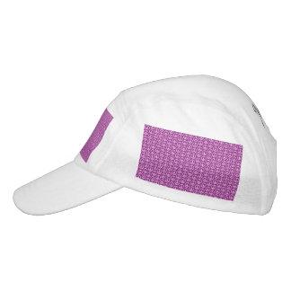 Peace Signs on Plum Purple Headsweats Hat