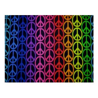 Peace Signs Postcard
