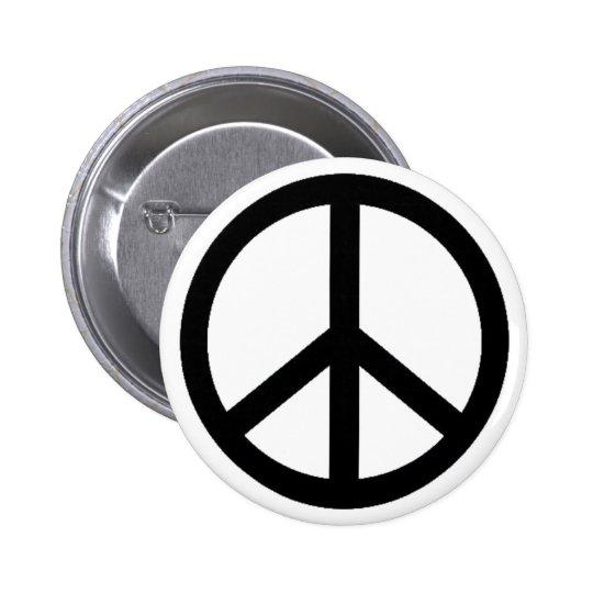 peace simbol pinback button