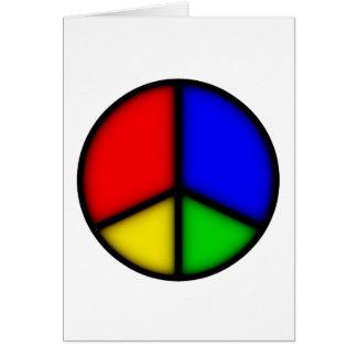 peace simple card
