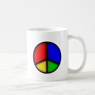 peace simple coffee mug