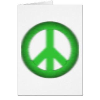 peace simple gloom card