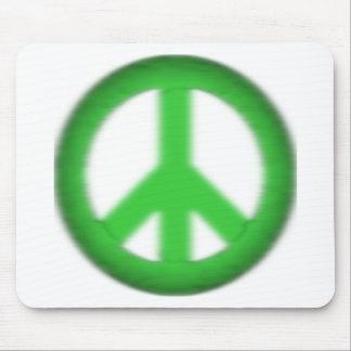 peace simple gloom mouse pad