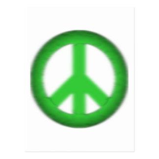 peace simple gloom postcard