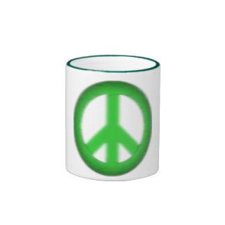 peace simple gloom ringer mug