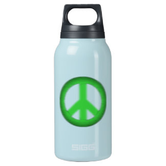 peace simple gloom thermos bottle