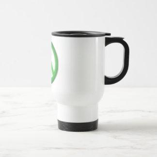 peace simple gloom travel mug
