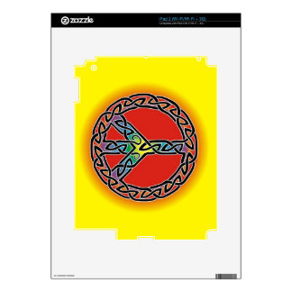 Peace Decal For iPad 2