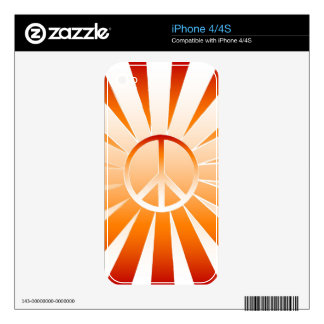 Peace Skins For iPhone 4S