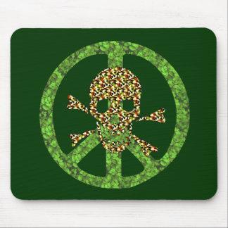 Peace Skull Mouse Pad