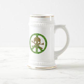 Peace Skull Coffee Mugs