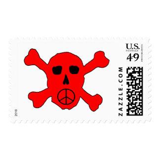 Peace Skull Postage