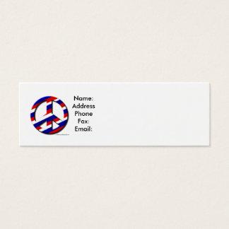 peace-sm, Name:AddressPhoneFax:Email: Mini Business Card
