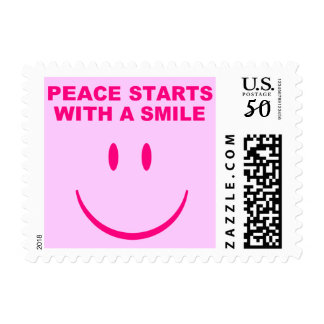 Peace Smile Postage