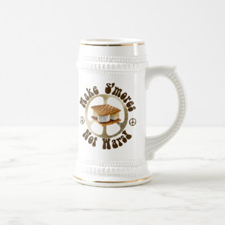 Peace - Smores Not War Beer Stein