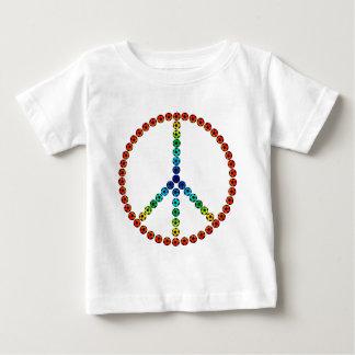 Peace Soccer Baby T-Shirt
