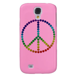 Peace Soccer Galaxy S4 Cover