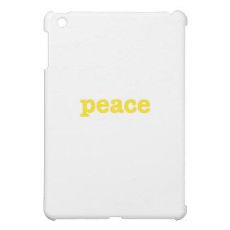 peace (soulshine edition) iPad mini case