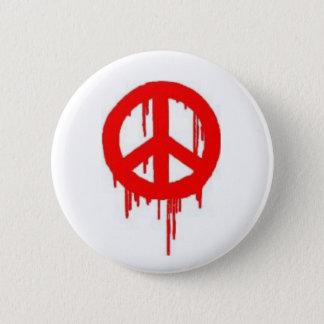 Peace SPraypaint Button