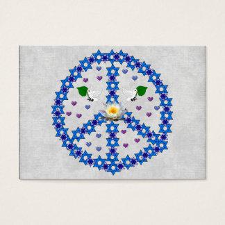 Peace Star Of David Business Card