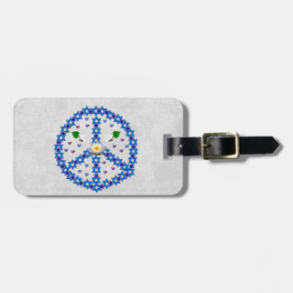 Peace Star Of David Tag For Bags